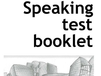 New Spanish GCSE - Speaking Test Booklet (updated)