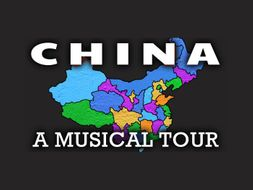 Chinese Geography Video: A Song for China