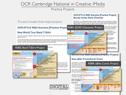 OCR-Style Creative iMedia 3 x Practice Project Bundle