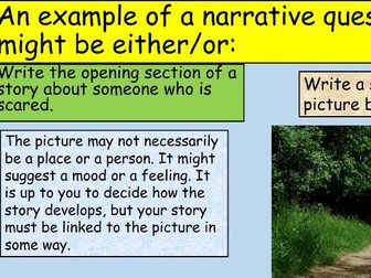 KS3 Language Paper 1 Creative Writing Practice