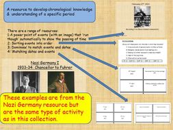 Developing chronological knowledge and understanding - KS2 Samples