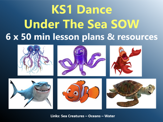KS1 Dance – Sea Creatures topic – Under the Sea SOW