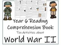 World War II Collection - Year 6 Reading Comprehension Book