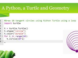 TL;DR - A Python, a Turtle and Geometry - PPS