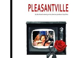 """Pleasantville""COMPLETE UNIT EDITABLE Activities,Tests,Essays,AP Style,PowerPoint"