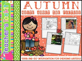 Autumn Write About the Picture {editable}