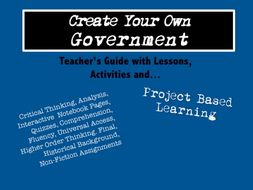 Choose Your Own Government Structure – PBL Unit