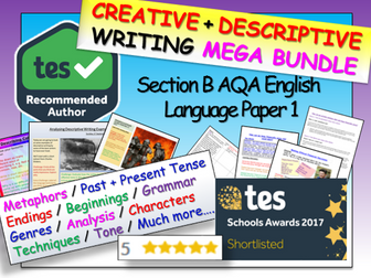 Descriptive Writing / Creative Writing - English Language