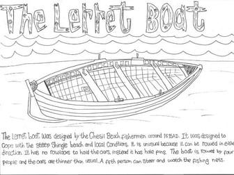 Chesil Beach: The Lerret Boat