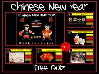 Chinese New Year Quiz