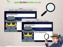 SATs Secret Agent Training School ID