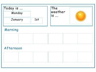 SEN Visual Timetable