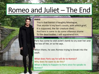 Romeo and Juliet - The End