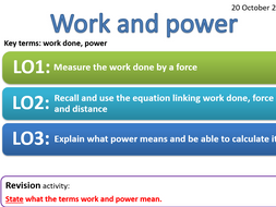 EDEXCEL CP7-CP8 Energy-forces doing work, Forces and their effects