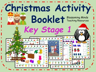 KS1 Christmas Activity Pack - 30 pages
