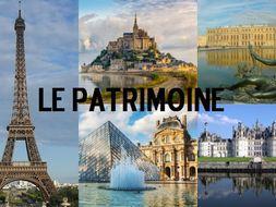 Le patrimoine-FULL TOPIC- AS FRENCH-une culture fiere de son patrimoine
