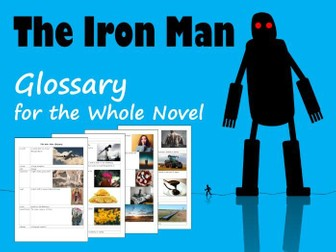 The Iron Man Glossary for the Whole Novel (Chapters 1-5)