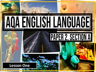 AQA New 2017 Specification: English Language, Paper 2 Section A: Nonfiction Reading