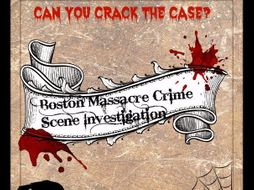 Boston Massacre Crime Scene Investigation