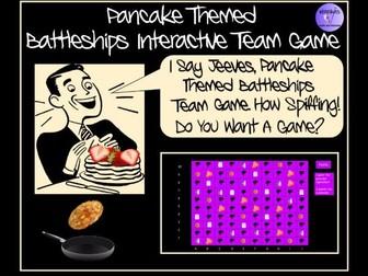 Pancake Day Themed Battleships