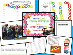 A Fun Introduction to Decimals with a Giant Paper Chain