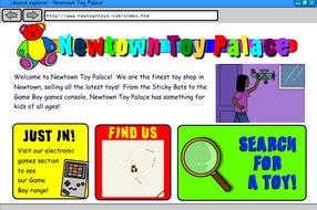 Interactive Information Website - Toys - KS2 Literacy