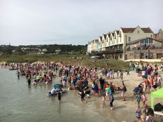 Seaside Festivals and Holidays: Raft Races: Alderney Week: Photo Collection