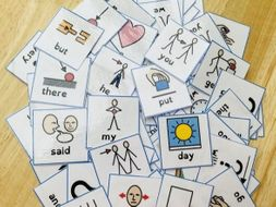 High- frequency words (100) with symbols phonics reading