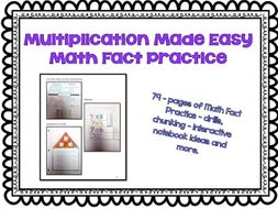 Multiplication Made Easy: Math Fact Practice