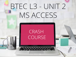 37 MS Access Video Guides for BTEC L3 NQF Unit 2 - Databases