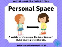 Personal Space Social Story