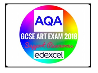 Art. AQA GCSE Fine Art Exam Support Notes