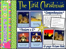 Nativity | The First Christmas Story | Literacy | Read and Comprehend