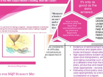 NQT / ITT Subject Mentor Manual
