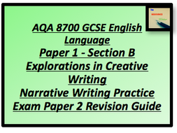 narrative writing gcse To the writing question on the aqa english language gcse paper 1  if  students do not have a profound understanding of how narrative.