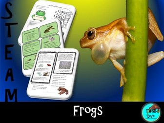 Frogs, Life Cycle, Project based learning, KS1,  NGSS, STEAM, Biomimicry
