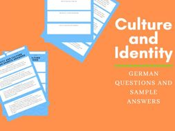 German Culture and Identity Questions with Sample Answers