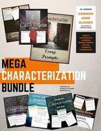 Characterization Mini-lessons:  A Mega Bundle for Facilitating Essay Writing and Discussion