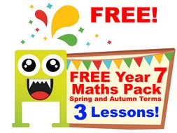 free maths powerpoint year 7 booster maths lessons spring term by