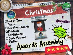 Christmas Awards Assembly