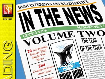 Reading the Newspaper: In the News! Volume 2