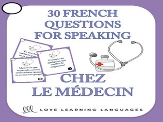 GCSE FRENCH: French Speaking Questions - Chez le Médecin - Doctor and Hospital Vocabulary