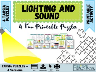 Lighting and Sound Drama Puzzles