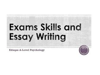 WJEC Eduqas A-Level Psychology Exam technique and assessment objectives workbook
