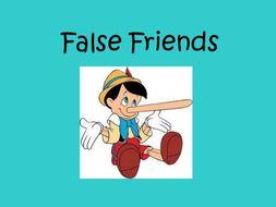 Common false friends