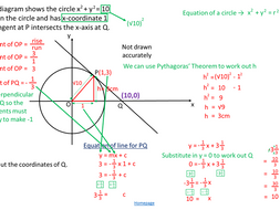 First - New GCSE (1-9) Higher Style GCSE Paper (Non-calc) with fully worked step by step solutions