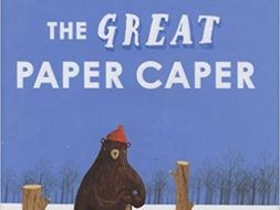 The Great Paper Caper by Oliver Jeffers activities