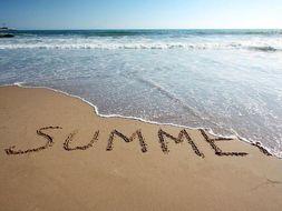 Descriptive writing: Summer (The Beach)