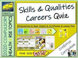 Skills and Qualities Careers Quiz