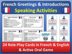 French greetings introductions role play and oral game by french greetings introductions role play and oral game m4hsunfo